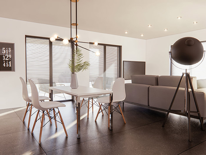 Nova hisa v okolici Maribora interior 160m2