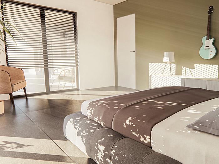 Nova hisa v okolici Maribora spalnica