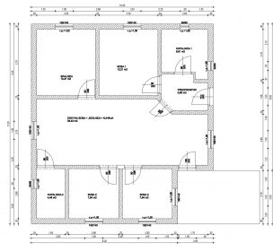 Nacrt nove hise v okolici Maribora